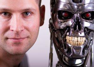 Raffael Dickreuter with Endoskeleton