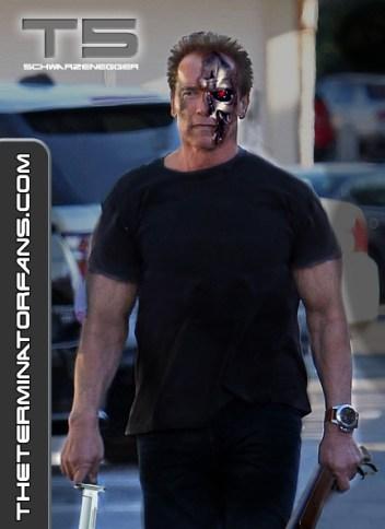 Terminator 5 Arnold Schwarzenegger Concept