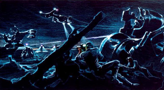 Future War Concept Art