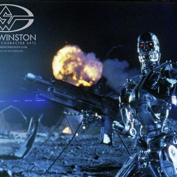 T-800 Endoskeleton Future War