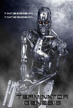 Terminator Genesis Fan Art Poster