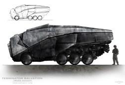 Vehicle Concept Art Terminator Salvation