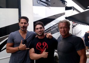 Brett Azar Terminator Genisys Double