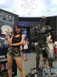 Life-Size 1:1 Endoskeleton T23D