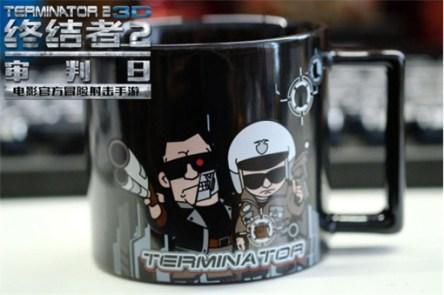 Terminator 2 3D Mug Collectible China