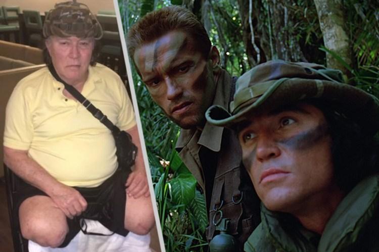 Sonny Landham Arnold Schwarzenegger