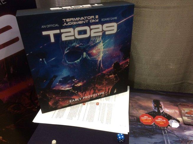 T2029 Terminator 2 Board Game Terminator