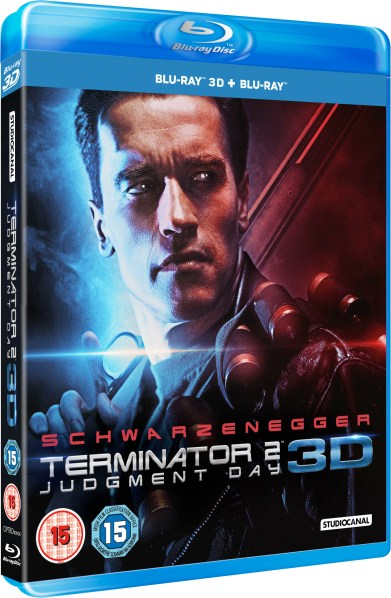 TERMINATOR 2: Judgment Day 3D Blu-Ray