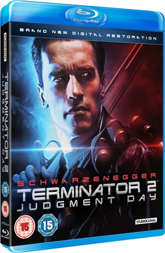 TERMINATOR 2 Blu-Ray BD UK