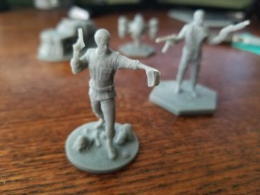 The Terminator Board Game Miniatures