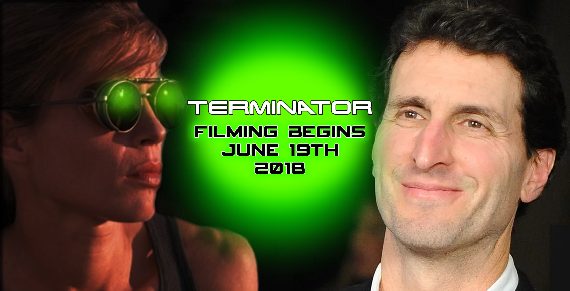 Writer Billy Ray Announces Terminator (2019) Begins Filming on June 19th 2018