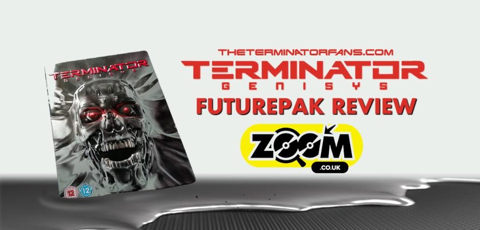 Zoom Terminator Genisys Futurepak Steelbook Blu-Ray Review