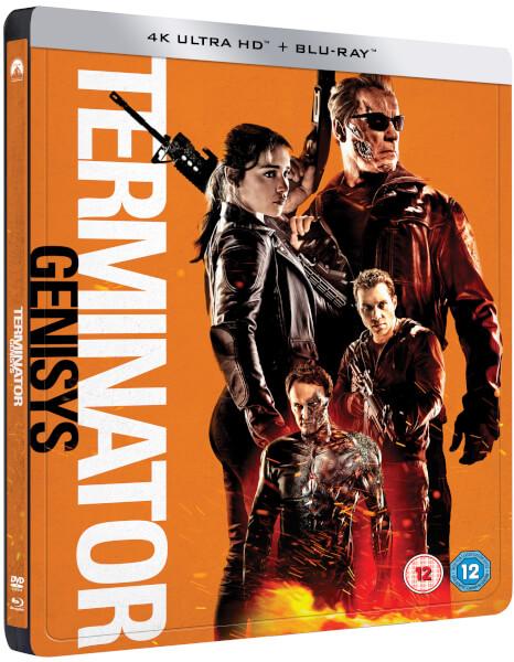 Terminator Genisys Blue Ray