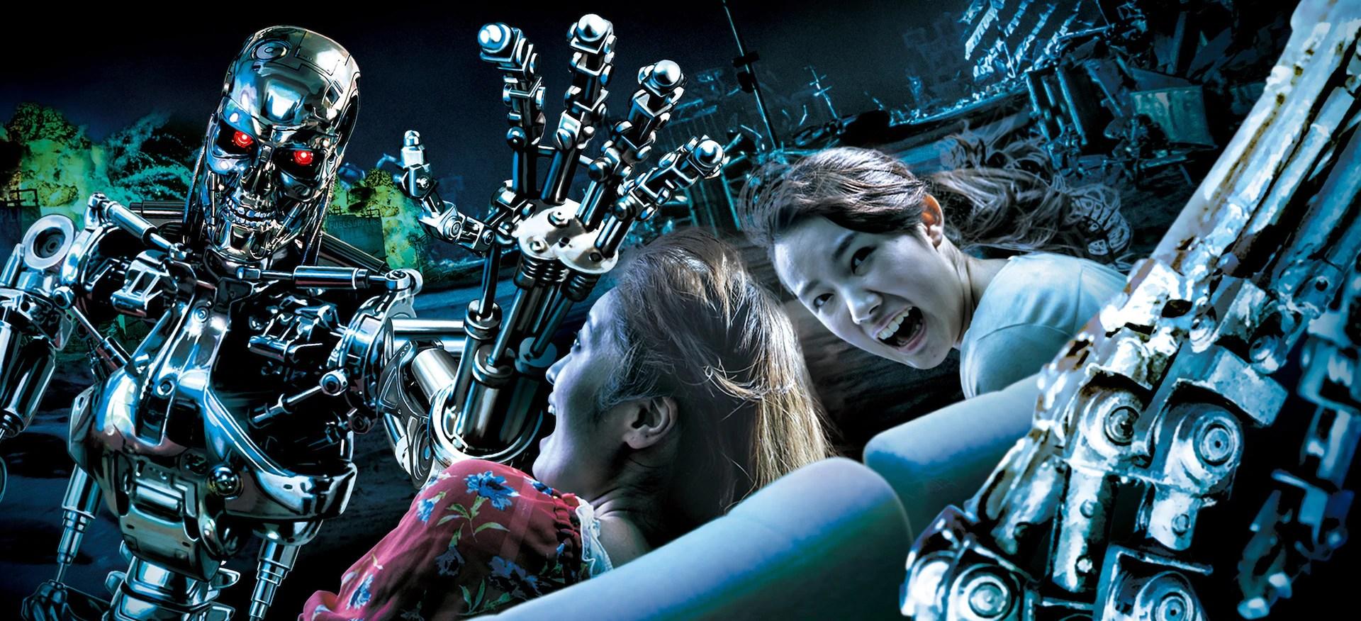 Terminator 2 3D Battle Across Time Universal Studios Japan