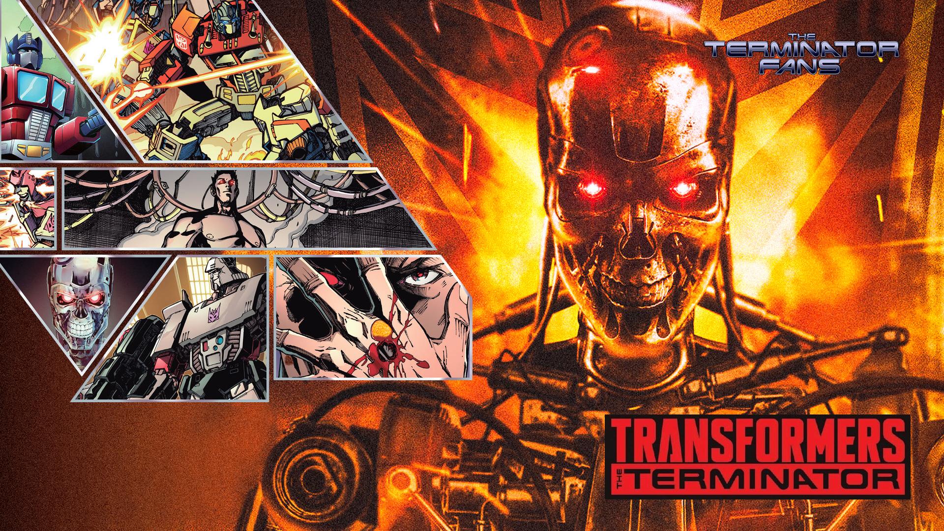 Buy Transformers Vs. The Terminator Trade Paperback