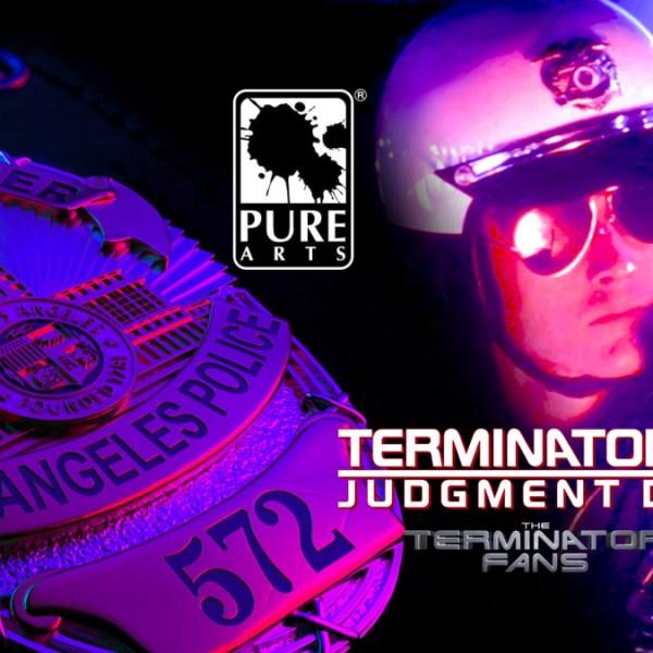 PureArts Tease Terminator 2 T-1000 1/1 Scale ART MASK