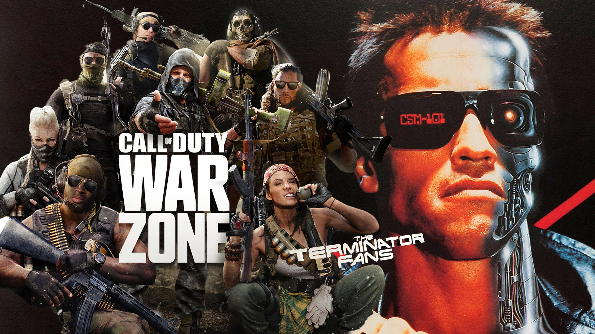 The Terminator Call Of Duty: Warzone