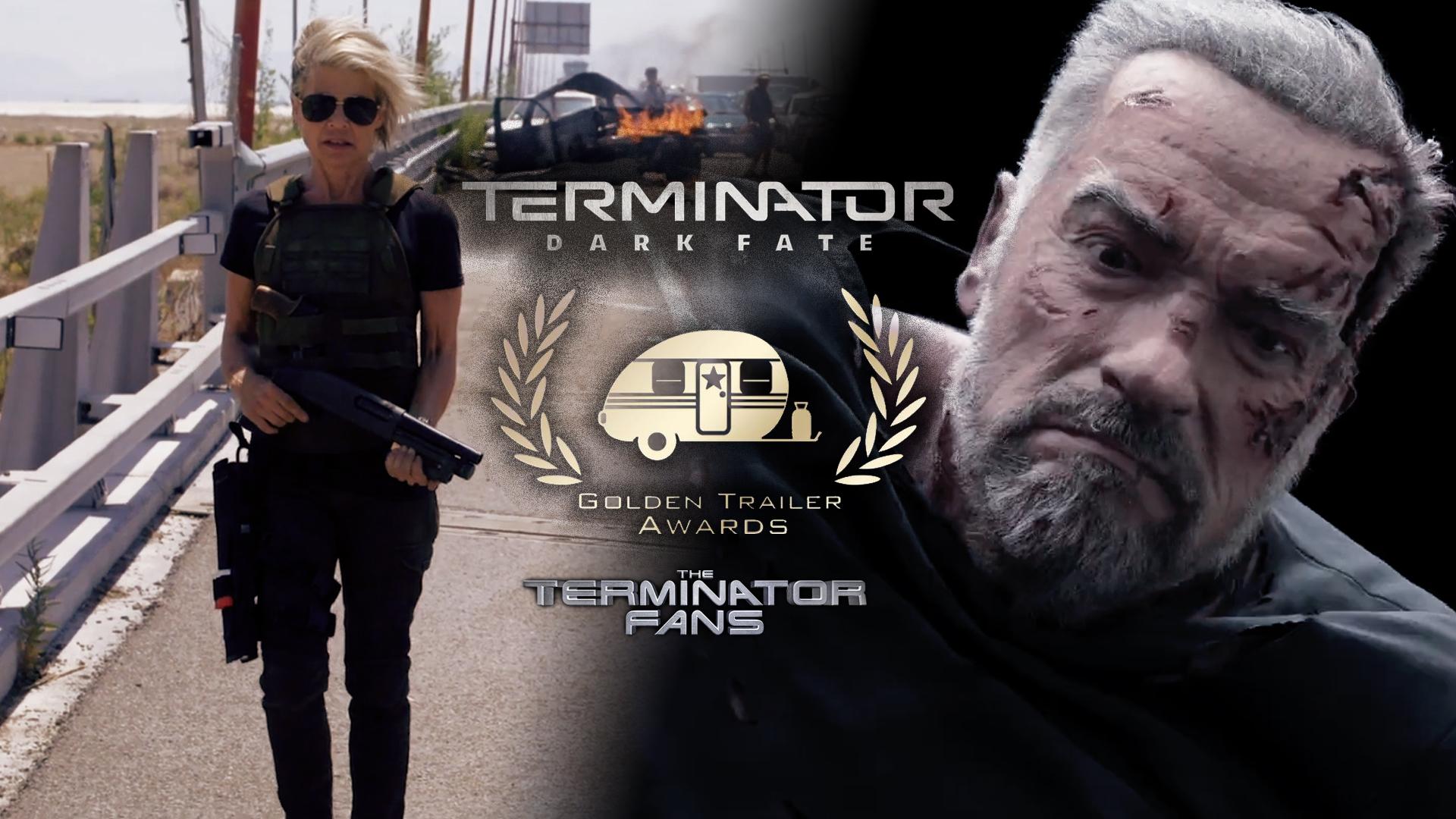 Terminator: Dark Fate Golden Trailer Awards