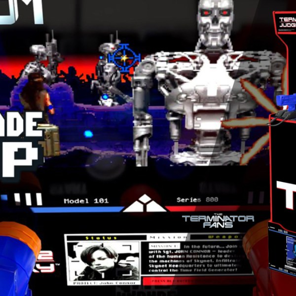 Terminator 2 The Arcade Game Coming to Homes Courtesy of Arcade1Up