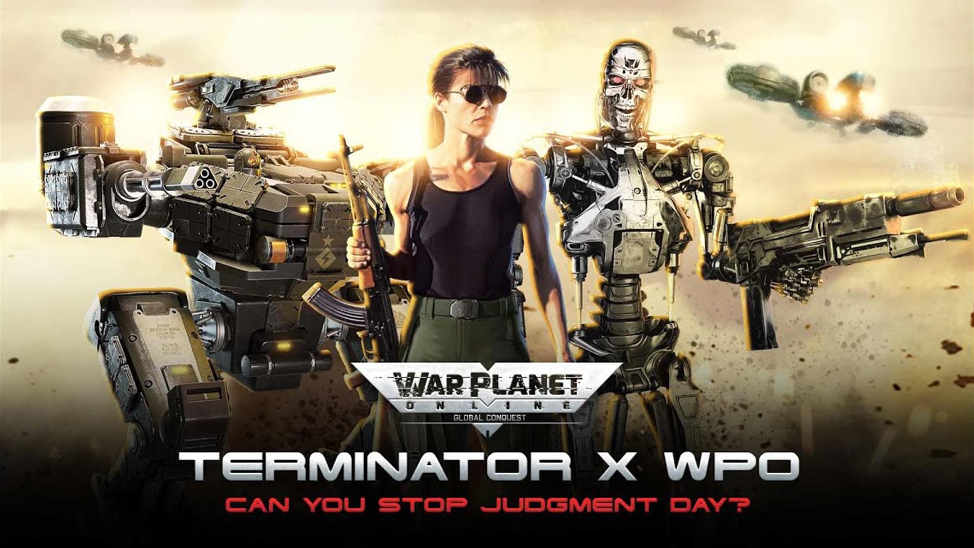 War Planet Online x Terminator 2: Judgment Day Teaser Trailer