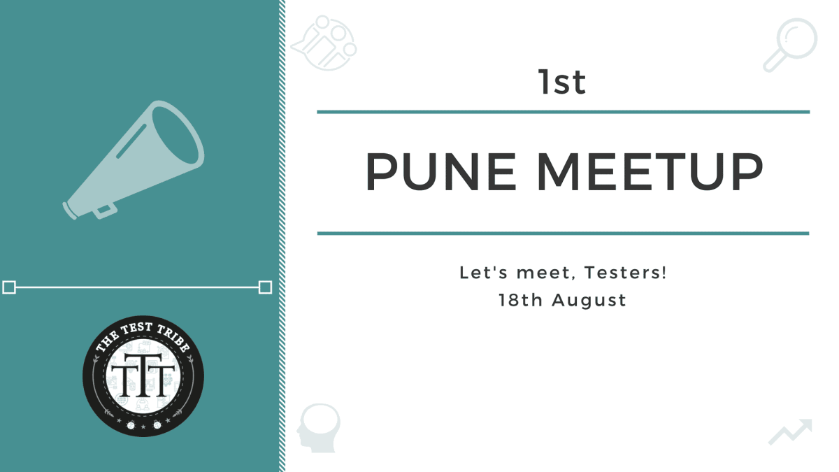 The Test Tribe Pune Meetup