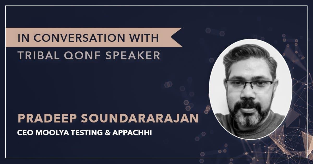 Pradeep soundararajan interview Trisha Chetani