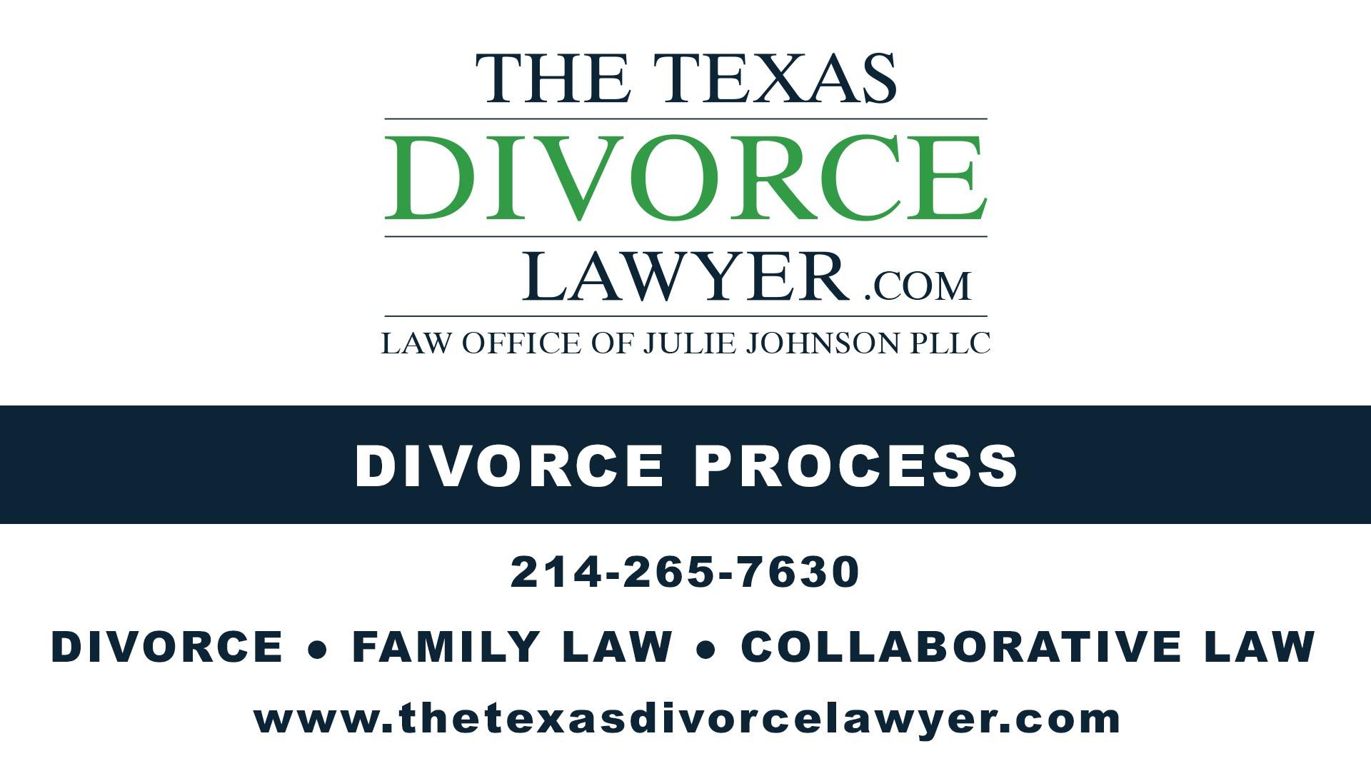 Divorce Process In Texas