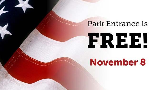 Texas State Parks Free Nov. 8th