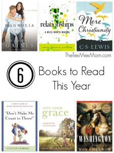 6 Books to Read This Year