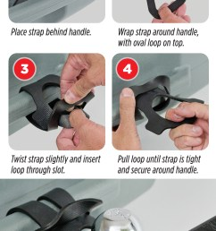 printable tow strap instruction card [ 1634 x 3379 Pixel ]