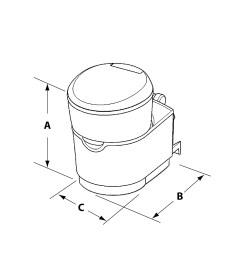 c223 s cassette toilet dimensions  [ 1200 x 1200 Pixel ]