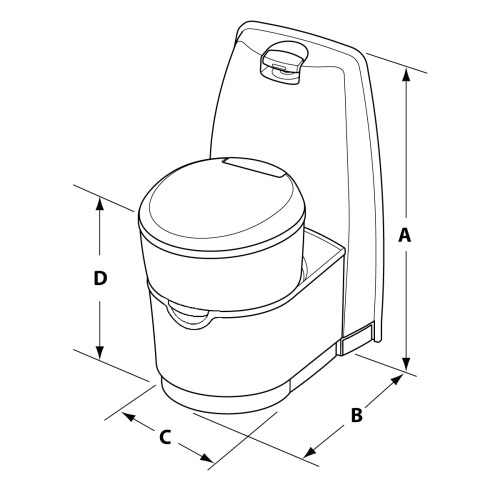 small resolution of  the valve and seal of your cassette toilet as these will damage the seals and surfaces causing odors to escape from holding tanks