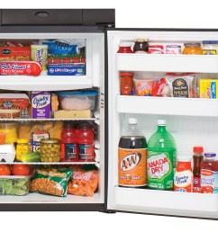 n306 refrigerator open w food [ 1534 x 1200 Pixel ]