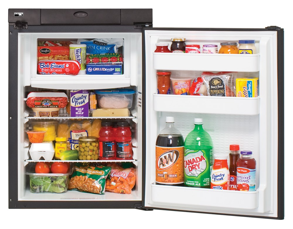 medium resolution of n306 refrigerator open w food