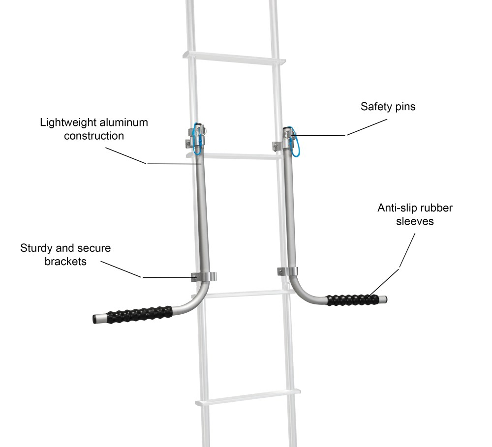 medium resolution of rv ladder mount rack dimensions rv ladder mount rack highlights