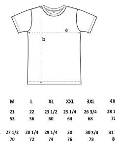 Eu shirt size the white  with black logo xs    and xl also gungoz  eye rh