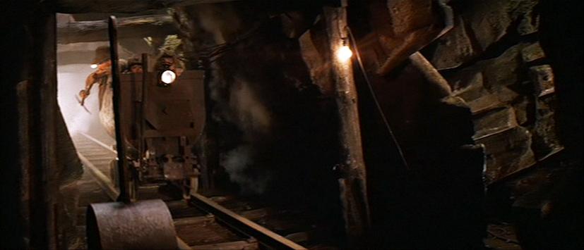 Indiana Jones Mine Car Rollercoaster  photographed