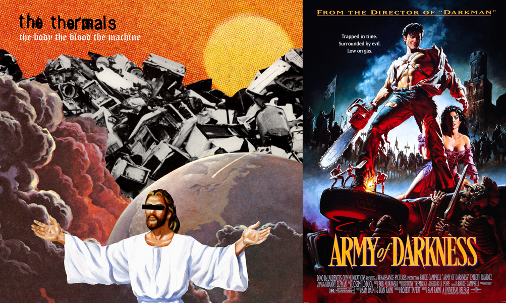 3-THE BODY THE BLOOD THE MACHINE - ARMY OF DARKNESS