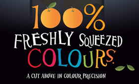 Freshly squeezed colours