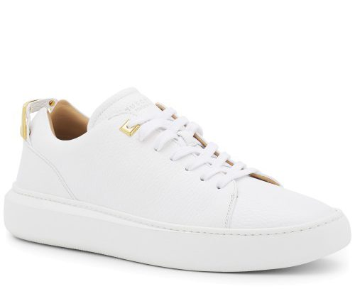 Buscemi Low Uno White Sneakers
