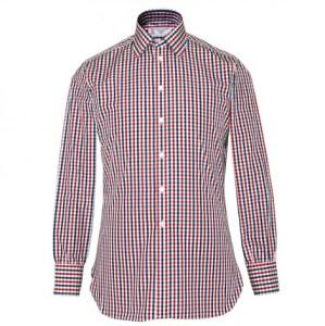 Plaid Men's Dress Shirt