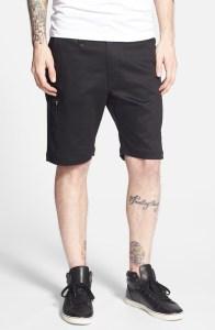 Stretch twill cargo shorts