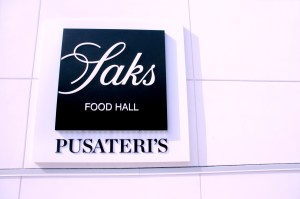 Saks Food Hall Presents Pusateri's