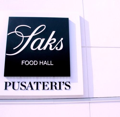Saks Food Hall Presents Pusateri's