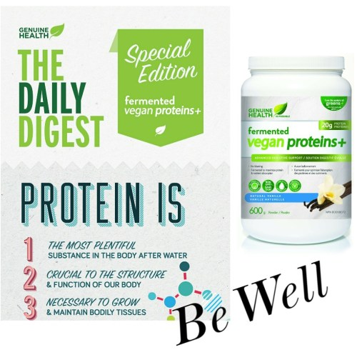 Be Well Fermented Vegan Protein