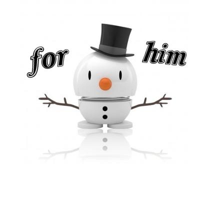 Hoptimist snowman ornament