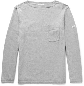 Engineered Garments Melange Cotton-Blend Jersey T-Shirt