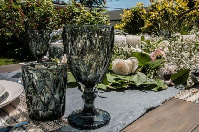 Glassware from Urban Barn