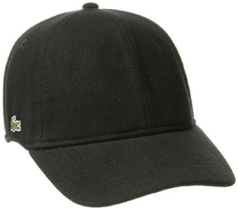 Lacoste mens Men's Pique Cotton Cap