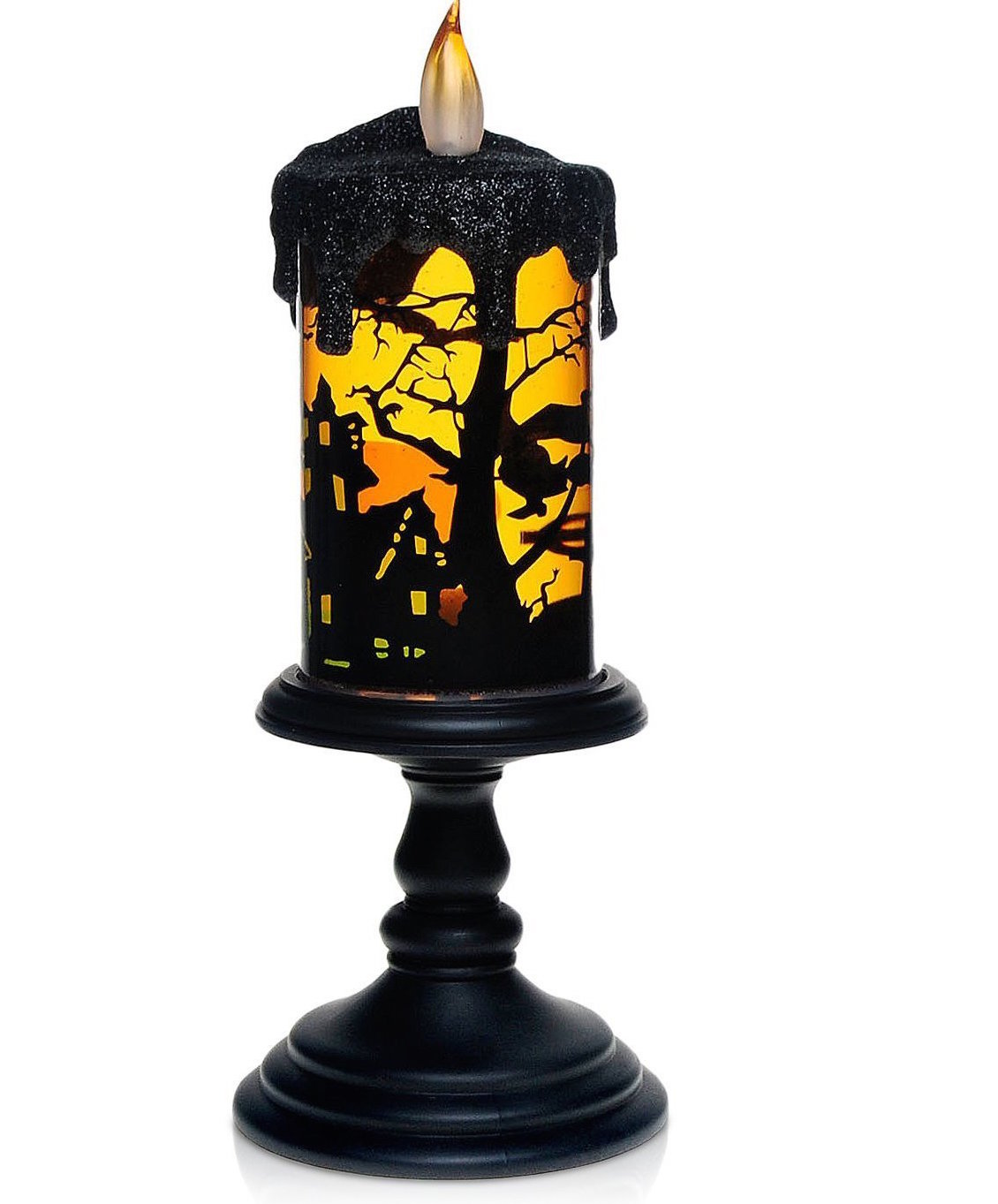 flameless candles,everplus bat tornado led candles with bat design
